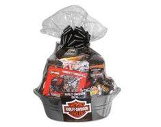 Let's Ride Harley Davidson Gift Basket
