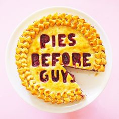 Celebrate Pi Day with this Pies Before Guys Pie recipe.