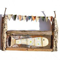 Little Fish - Driftwood Art Shirley Vauvelle - CoastalHome.co.uk: Driftwood