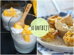 Ik vind het lekker om regelmatig te variëren met mijn ontbijt. Om jullie te inspireren hebben we een aantal lekkere ontbijt recepten op een rijtje gezet.