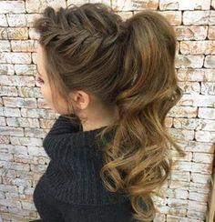 7 Modelos de trenzas con colas de cabello que están de moda ~ Manoslindas.com