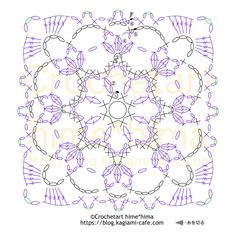 Easy Crochet Stitches, Crochet Square Patterns, Crochet Squares, Crochet Motif, Irish Crochet, Crochet Doilies, Knit Crochet, Diy Projects To Try, Crochet Projects