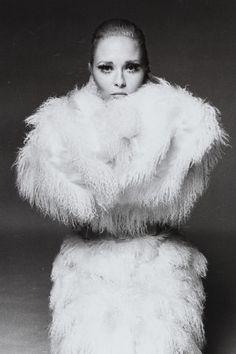 Faye Dunaway, photographed by Francesco Scavullo: