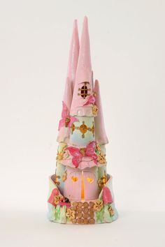 Fairy Castle Ceramic Nightlight by ClaireGemma on Etsy, $245.00