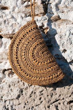 Crochet Clutch Bags, Crochet Handbags, Crochet Purses, Bobble Crochet, Hand Crochet, Diy Bags Purses, Diy Handbag, Jute Bags, Knitted Bags