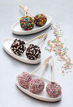Receta de Cake pops de chocolate