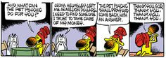 Mother Goose and Grimm By Mike Peters / 3. Grimmy psychic -3