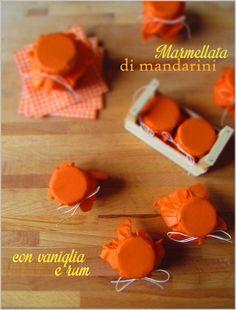 Marmellata di mandarini con vaniglia e rum - Tangerine jam with rum and vanilla