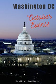 Travel With Kids, Family Travel, October Events, Places To Travel, Places To Visit, Washington Dc Travel, Us Destinations, Romantic Getaway, Capital City