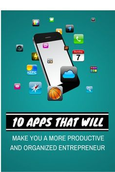 Not feeling productive or organized enough in your business? If so, here are 10 organization and productivity apps that will help get you. Productivity Apps, Entrepreneurship, Organization, Make It Yourself, Feelings, Business, How To Make, Getting Organized, Organisation