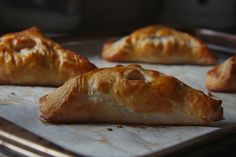 apple turnovers. I'm making these right now!
