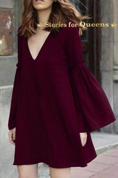 7ab0185041b5 Γυναικειο φορεμα με μανικια καμπανα. Χαριτωμένα ΡούχαΦορέματα Για Γεμάτες Καλοκαιρινά ...