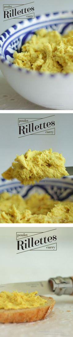 Petites rillettes de poulet curry-Kiri,