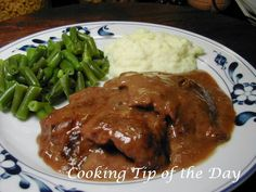 Cooking Tip of the Day: Easy Crockpot Cube Steak