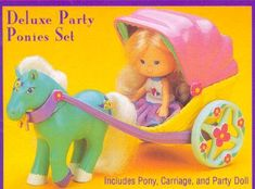 'Deluxe Party Ponies Set' by Lanard