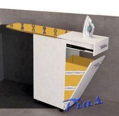 Planchador plegable 1 caj n 1 puerta 89cm ideas para el for Mueble planchador ikea