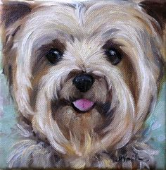 DAILY PAINTERS MARKETPLACE: Dog Paintings
