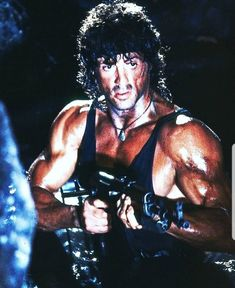 A gallery of Rambo III publicity stills and other photos. Featuring Sylvester Stallone, Richard Crenna, David Morrell, Peter Macdonald and others. Silvestre Stallone, Rocky Series, Tv Series, Sylvester Stallone Rambo, Stallone Movies, John Rambo, Rambo 2, Film Distribution, Demolition Man