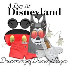 Day at Disneyland Outfit<3