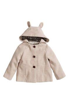 Manteau à capuche   H&M