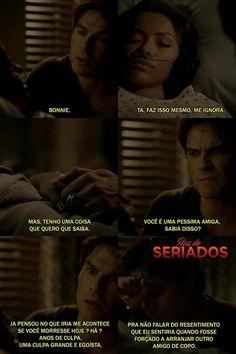 Que Fofo!! The Vampire Diaries, Vampire Dairies, Vampire Diaries The Originals, Elena E Damon, Damon And Bonnie, Klaus Tvd, Riverdale Memes, Damon Salvatore, Delena
