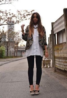 Vintage Blazer  , H en Otras joyas / Bisutería, H en Camisas / Blusas, Asos en Bolsos, vintage en Blazers, Zara (new collection) en Pantalones