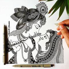 Mandala Design, Flute, Henna, Design Art, Crows, Tattoos, Drawings, Plays, Artist