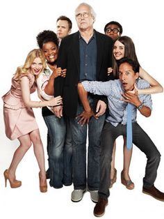The Greendale Seven! One of the best casts on television-- bar none! (P.S.- Where's the Emmy love?) #Community