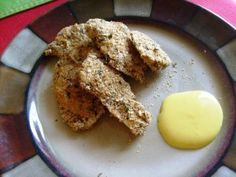 All natural, healthy, easy, baked chicken strips!