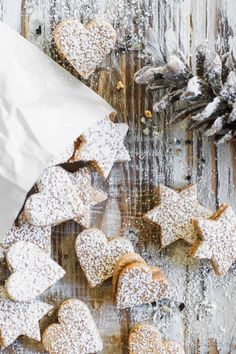 Soft honey biscuits - Weihnachten,Weiche Honigkekse In the Christmas bakery - Flowers in the Salad. Cookies Oreo, Nutella Cookies, Biscuits, Christmas Baking, Christmas Cookies, Russian Honey Cake, Cookie Salad, Cake Candy, Cake Works