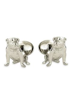 David Donahue 'Bulldog' Sterling Silver Cuff Links available at #Nordstrom All i have to say is O.M.G