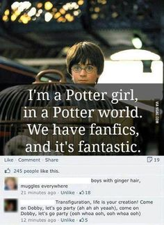 I love this a lot!! Harry Potter
