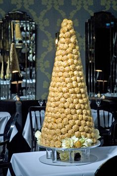 Beautiful and largest croquembouche to date....650 profiteroles in total!!! I very nearly couldn't get it through the door!!!