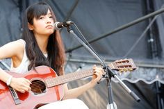 「BBQ in つま恋」に出演した藤原さくら Japanese Guitar, Guitar Girl, Rock N Roll, Real Life, With, Music, Pretty, Image, Guitars