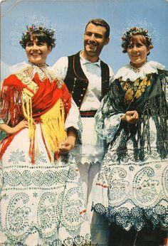 National Costume from Valpovo on Flickr.Old Postcard National Costume from Valpovo, Hrvatska (Croatia)  Fototehnika, Zagreb