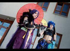 Vocaloid Gakupo x Kaito cosplay
