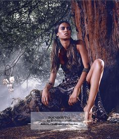 Pocahontas by Roberto Cavalli. Photo by Jason Ell for Harrods Magazine.