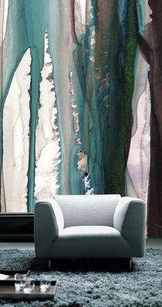 Watercolor wallpaper.