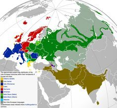 25 maps that explain the English language - Saying that English is Indo-European, though, doesn't really narrow it down much. This map shows where Indo-European languages are spoken in Europe, the Middle East, and South Asia today, and makes it easier to see what languages don't share a common root with English: Finnish and Hungarian among them.