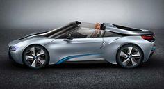 BMW i8 Spyder and the new Key 7
