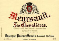 Meursault Chevalieres Matrot