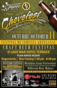 Octubre 11: Chevefest con la Banda del Mastuerzo en el Tapeo