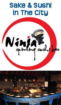 Thursday, January 3, 2013  6:00 PM - 8:00 PM  Sake & Sushi In The City Network @ Ninja Spinning Sushi Bar  Where: Ninja Spinning Sushi Bar, 41 E Palmetto Park Road, Boca Raton, Florida  https://www.facebook.com/events/325278380919347/