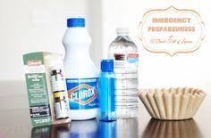 Emergency Preparedness - Water Purification ABFOL