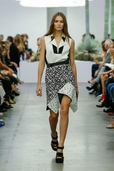 Iceberg Spring 2015 Ready-to-Wear - Collection - Gallery - Look 1 - Style.com