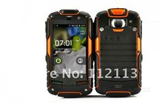 FortisX - Rugged Waterproof, Dustproof, Shockproof 3G Android 2.3 Smartphone (Dual SIM, 3.2 Inch Touchscreen, GPS)