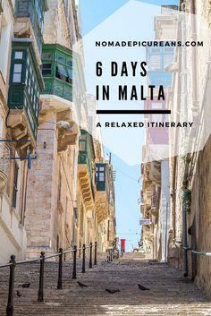 Learn how to spend 6 days on the islands of Malta, Gozo, and Comino. With practical tips! Includes Valletta, Mdina, Dingli Cliffs, Hagar Qim, Mnajdra, Blue Grotto, Victoria, Blue Lagoon, Golden Bay Beach, Marsaxlokk, Sliema.
