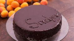 Sacher Torte - Chocolate Cake with Apricot Jam Filling Recipe