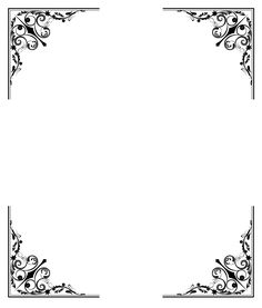Victoriana, Art Deco, Esquina, Separadores, Marcos Frame Border Design, Page Borders Design, Borders For Paper, Borders And Frames, Molduras Vintage, Wedding Invitation Background, Vintage Borders, Victorian Art, Wedding Card Design