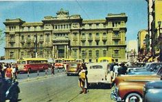 1950 - Praça Clovis Bevilacqua na região da Sé (cartão postal).